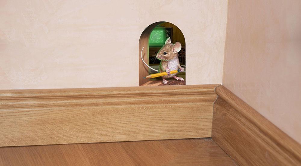 برچسب سه بعدی موش
