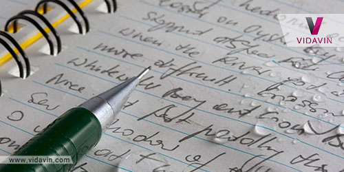دفترچه ضد اب- هدیه خلاقانه