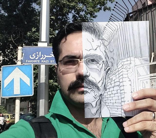 نقاشی توسط صالح سخندان