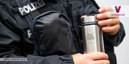 هدیه برای پلیس- فلاسک چای