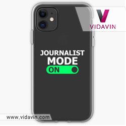 قاب گوشی موبایل خبرنگار در روز خبرنگاری