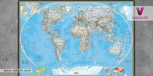 نقشه جهان - مسافرت
