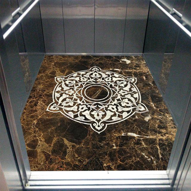 کفپوش آسانسور لوکس