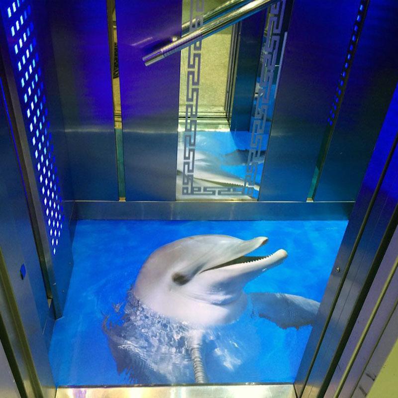 کفپوش سه بعدی کف آسانسور