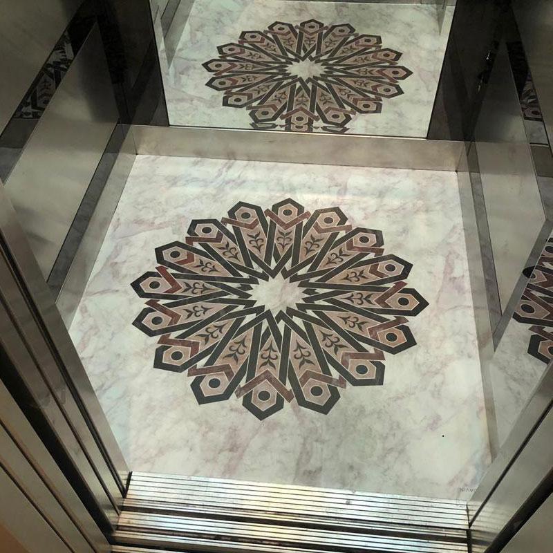کفپوش کابین آسانسور