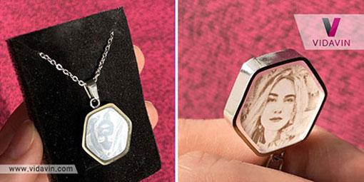 لیانا- هدیه به متولدین ماه ها- گردنبند با عکس شخصی