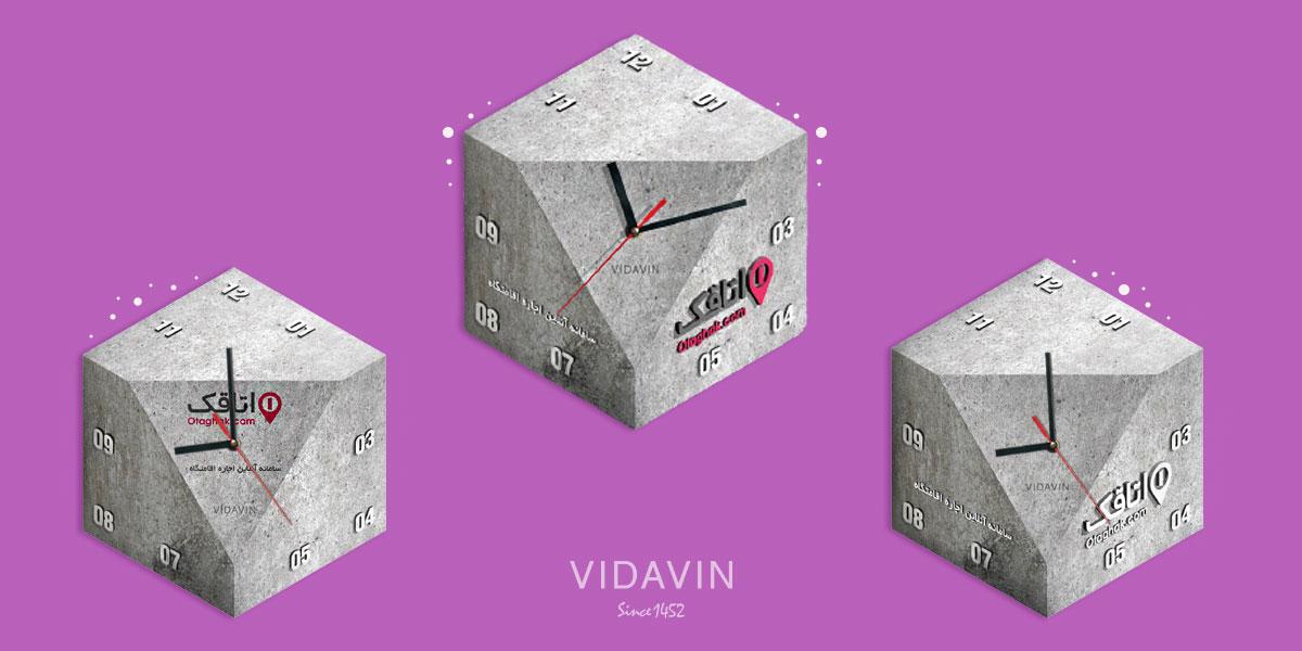 ساعت تبلیغاتی با عکس لوگو و نام برند- ساعت شخصی سازی شده