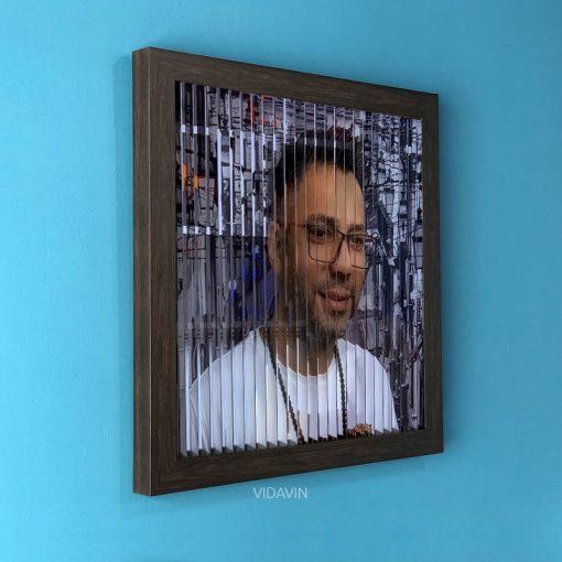 قاب تصویر سه بعدی عکس شماره سه