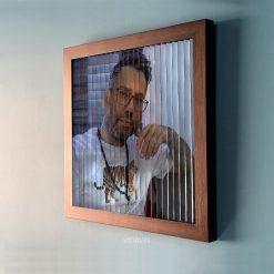 قاب تصویر سه بعدی عکس شماره دو