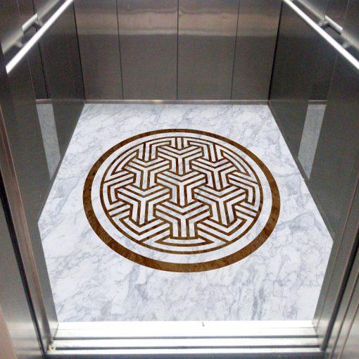 بهترین کفپوش برای آسانسور