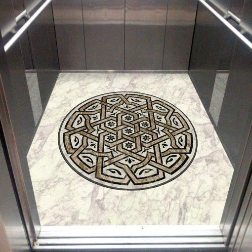 عکس سنگ کف آسانسور