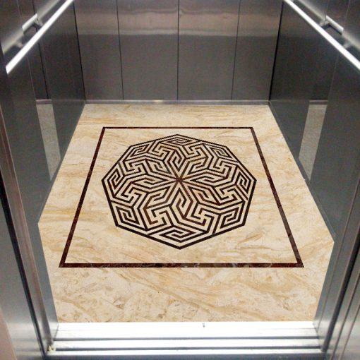 سنگ مصنوعی کف کابین آسانسور