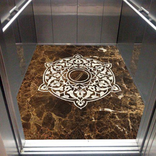 عکس سنگ گرانیت کف آسانسور