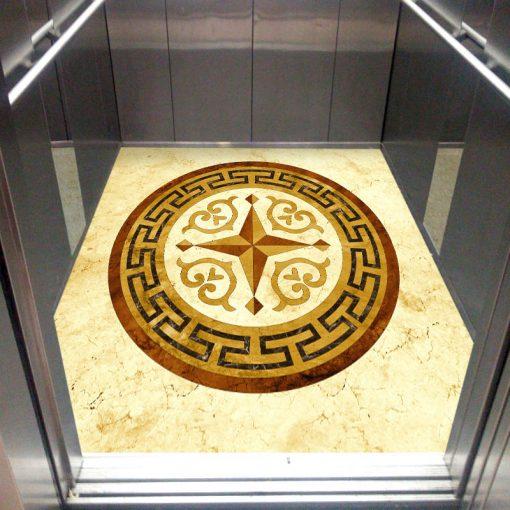 کفپوش آسانسور معرق سینگ ورساچه عکس دوم