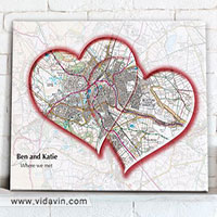 نقشه اولین دیدار عاشقانه