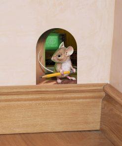 استیکر سه بعدی موش 1