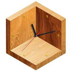 ساعت ددواری مربعی