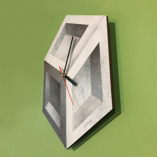 ساعت دیواری سنگ بتنی - 2