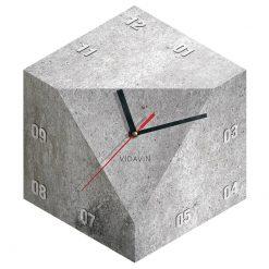 ساعت دیواری بتنی