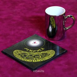 لیوان آینه ای ویداوین طرح Versace عکس شماره سه